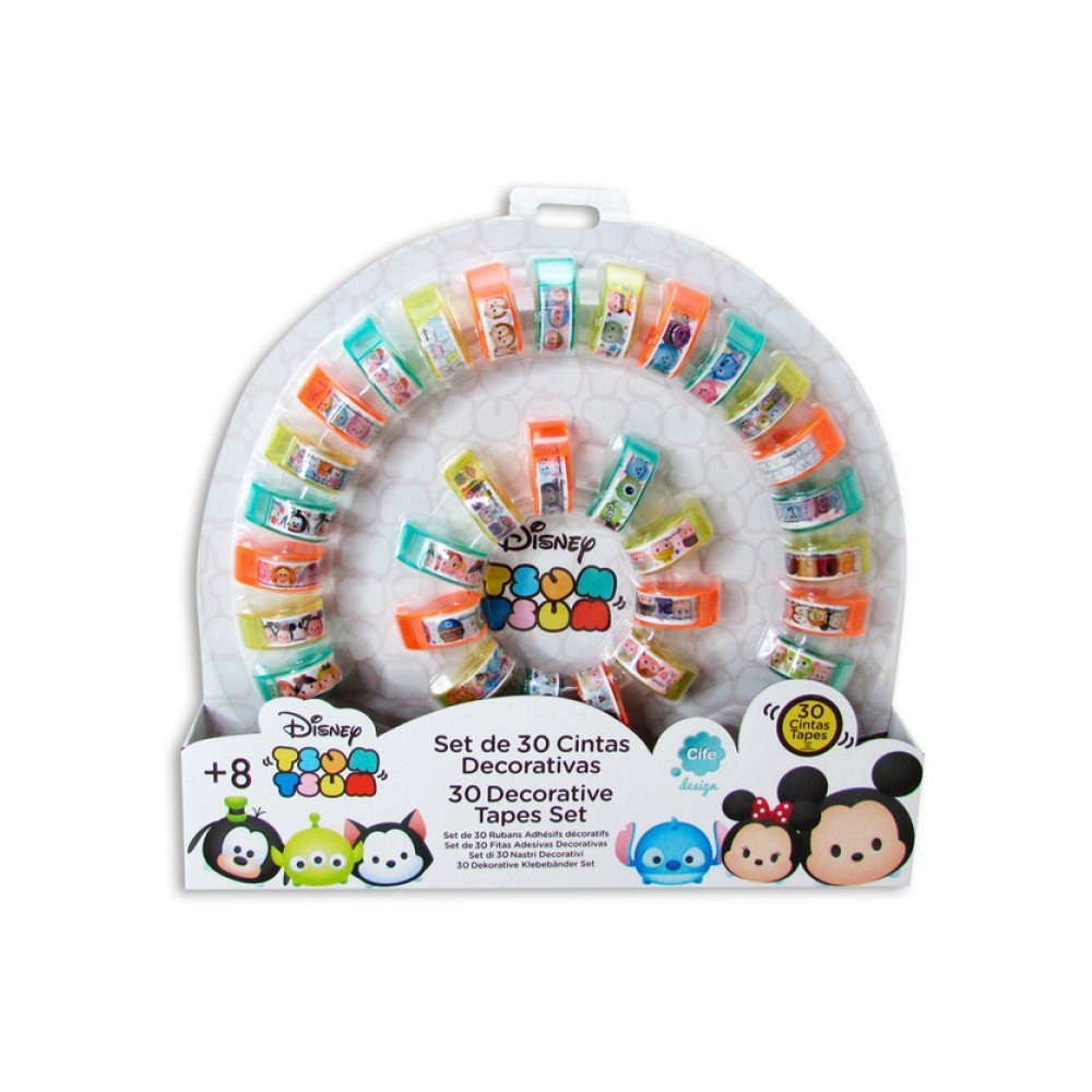 Tsum Tsum - Set 30 Tapes (Cife 86836)
