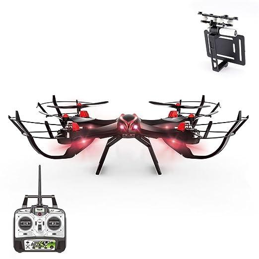 6 opinioni per Smartex -Drone Sky Vampire Quadricottero con Supporto Compatibile