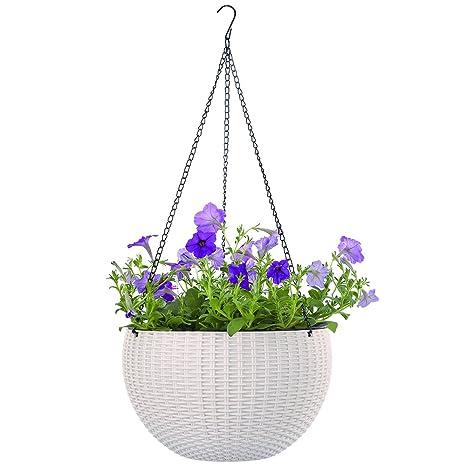 Beroemd Amazon.com: Growers Hanging Basket, Indoor Outdoor Hanging Planter LD54