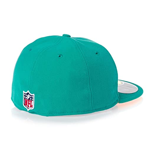 b343328c88c Amazon.com   New Era Men s 59fifty Nfl On Field Miami Dolphins Cap   Sports    Outdoors