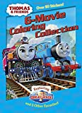 img - for Thomas & Friends 6-Movie Coloring Collection (Thomas & Friends) (Jumbo Coloring Book) book / textbook / text book