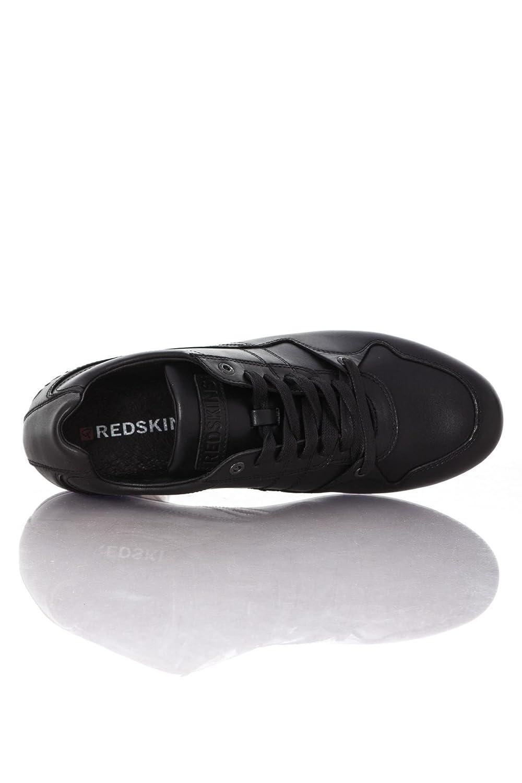 Chaussures Baskets En Cuir Noir Redskins Aconito OR8vdRqx