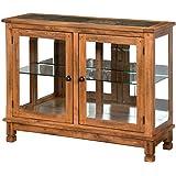Sunny Designs Sedona Console Curio Cabinet