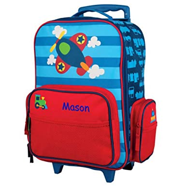 Personalized Kids Rolling Luggage (Airplane) ed4ea6f998c1c