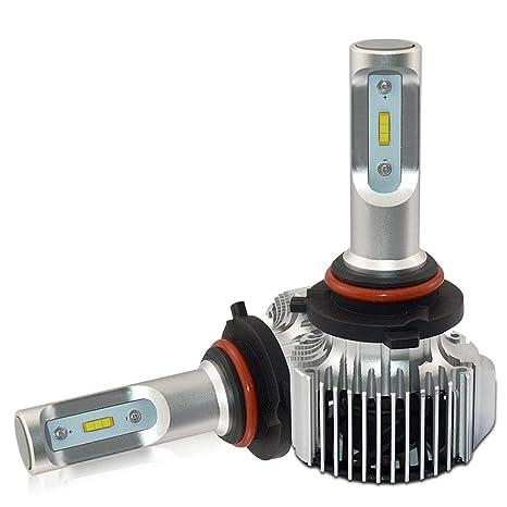 Faros delanteros de coche, bombillas de tamaño mini de fácil instalació