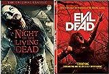 Dead Classic Collection DVD + The Evil Dead & Night of the Living Dead Original Horror Movie Bundle Set