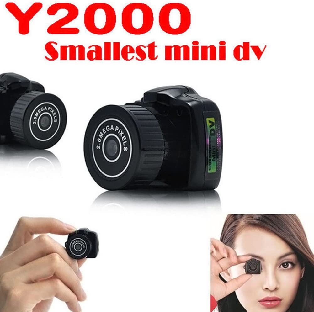 OUYAWEI Fashion Mini Smallest Integrated Camera HD Camcorder Recorder Video Outdoor Spy Hidden Web Cam Novel Gift