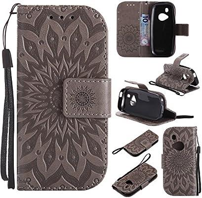YYhin Cáscara Case para Funda Nokia 3310, Cartera extraíble de Piel magnética Desmontable con Monedero, Funda de sujeción para.(Gris)