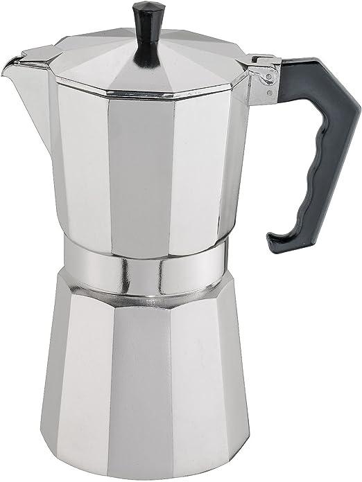 Cilio 321289 - Cafetera (Independiente, Cafetera turca, De café molido, Aluminio): Amazon.es: Hogar