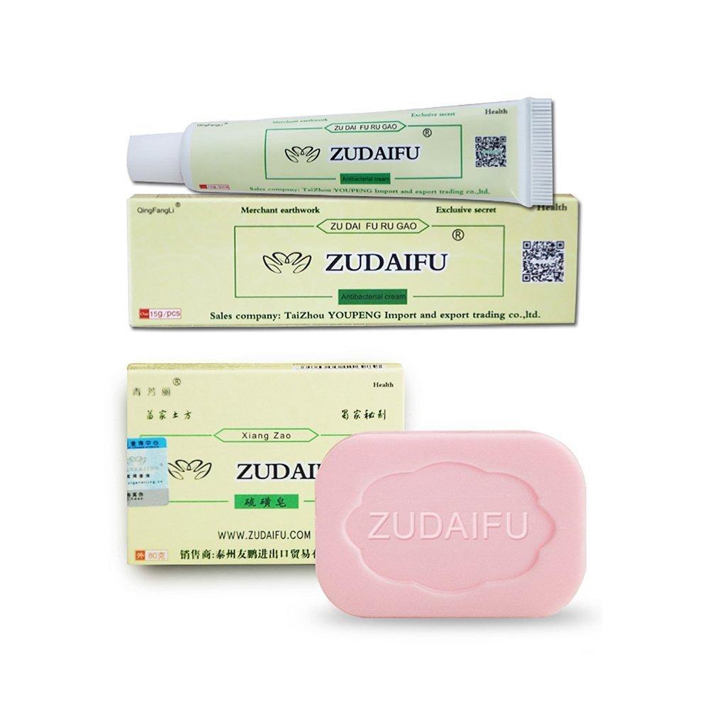 ZUDAIFU Antibacterial Ointment Creams,Woya Psoriasis Eczema Peeling Herbal Creams (A2) by Woya