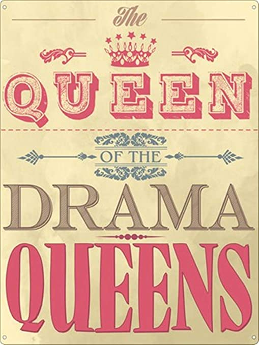HALEY GAINES Queen of The Drama Queens Placa Cartel Póster ...