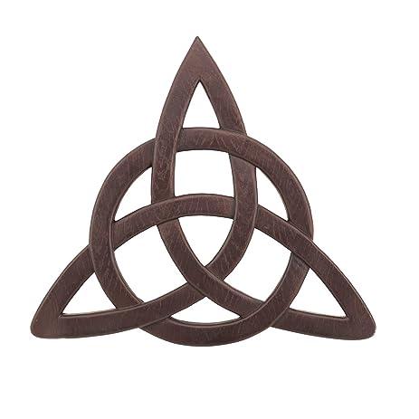 Adorox Celtic Resin Trinity Knot Hanging Wall Decor Faith Blessing