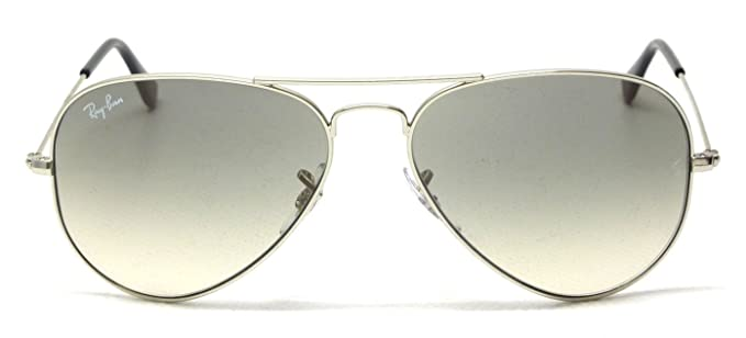 ef132a0ae2b8a Image Unavailable. Image not available for. Colour  Ray-Ban Aviator  Polarised Sunglasses (Silver) (Rb3025 003 32 58