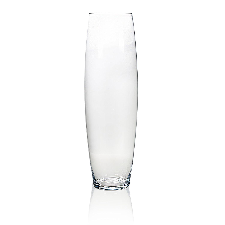60cm Tall Cylinder Glass Vase EASYGIFT