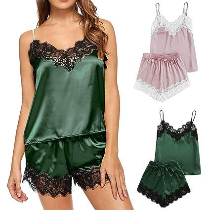c6f0616ef2 Amazon.com  Cami PJ Sets for Women