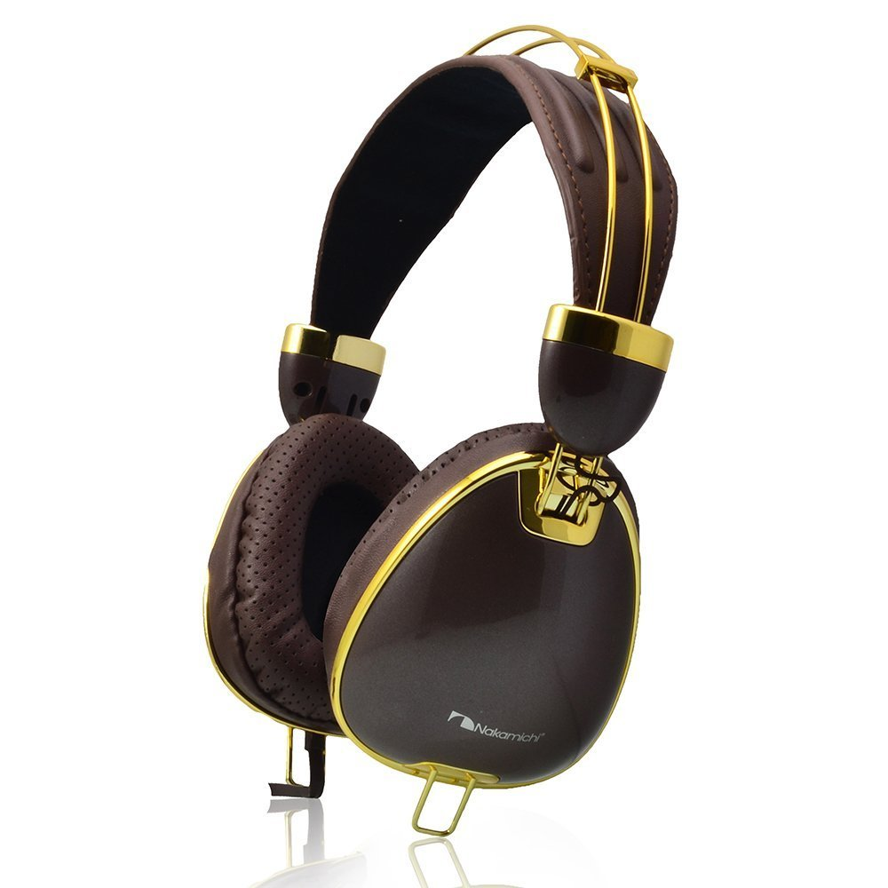 Nakamichi 900 Studio Bi-Fold Headphones | Brown
