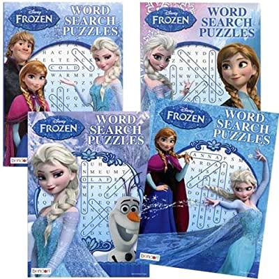 Frozen Word Search Puzzle x 4: Toys & Games
