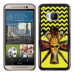 Dragon Case - FOR HTC One M9 - Give people a chance - Caja protectora de pl??stico duro de la cubierta Dise?¡Ào Slim Fit