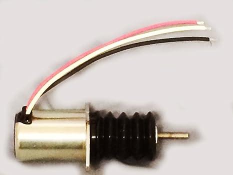 am124379 combustible apagado solenoide John Deere 415 455 F915 F925 F935 frontal cortacésped