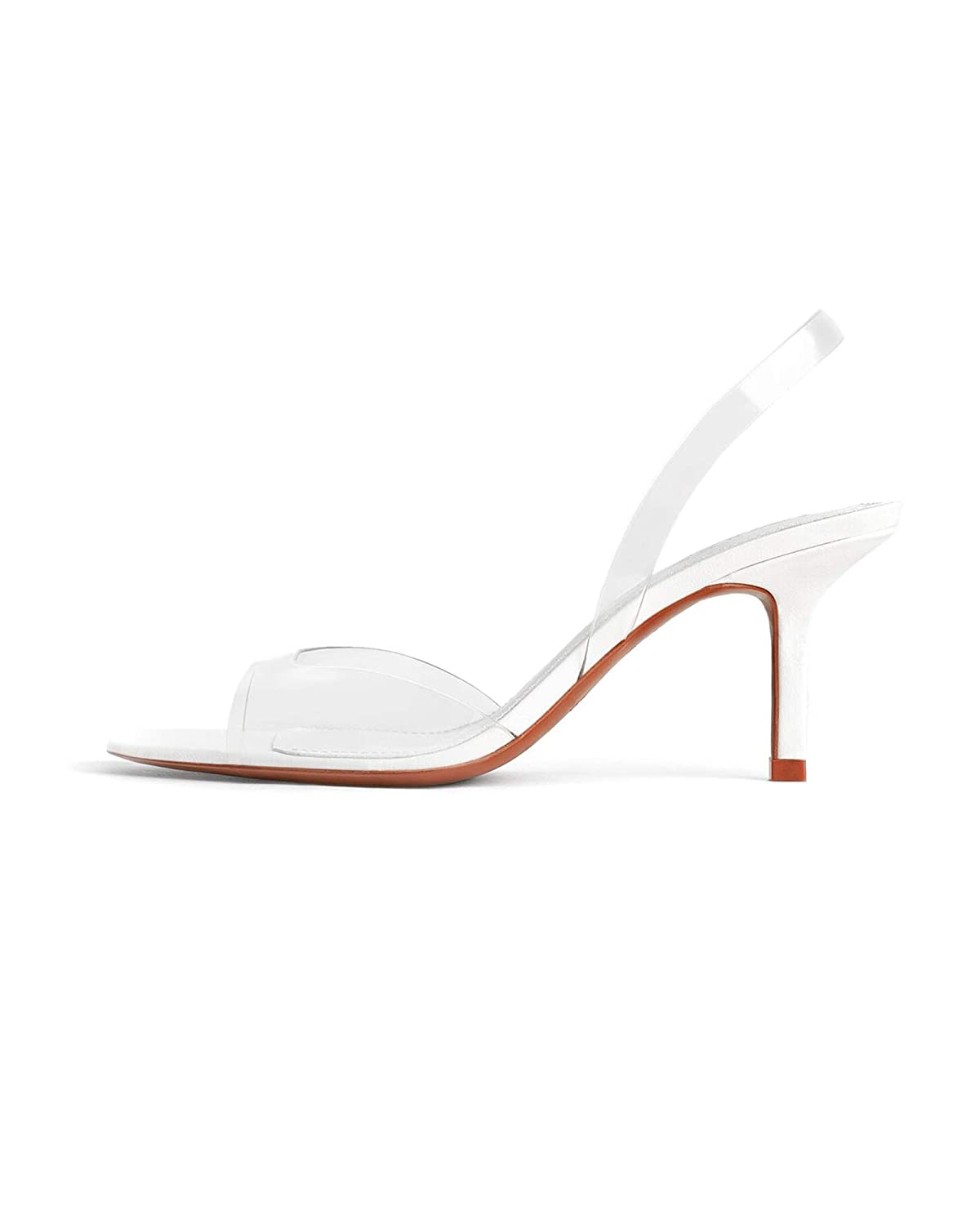 Zara Women's Vinyl high Heel Sandals 2337001: Amazon.co.uk