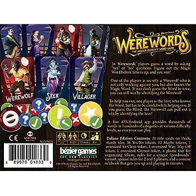 Bezier Games WWDXBEZ Werewords Deluxe Edition: Toys & Games