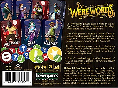 Bezier Games Werewords Deluxe Edition