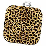 3dRose Janna Salak Designs Prints and Patterns - Cheetah Animal Print - 8x8 Potholder (phl_20340_1)