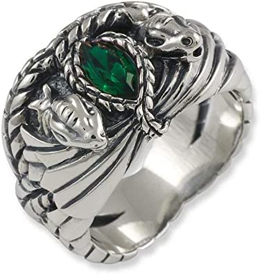 Herr der RingeHobbit Schmuck by Schumann Design Ring Barahir Aragorn aus 925 Silber 10004057