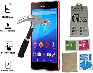 Evess Protector Pantalla Cristal Templado Sony Xperia M4 Aqua Mas ...