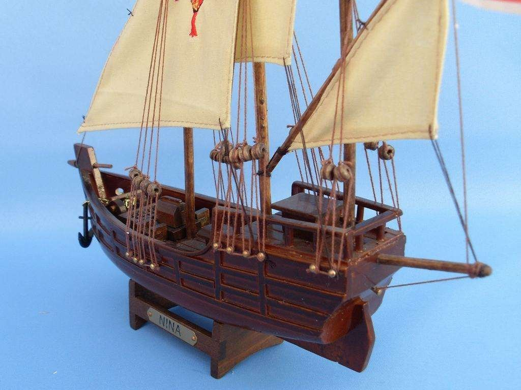 Hampton Nautical  Nina Tall Ship, 12'' by Hampton Nautical