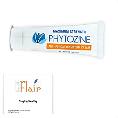 PHYTOZINE Antifungal Ringworm Cream for Skin and Scalp