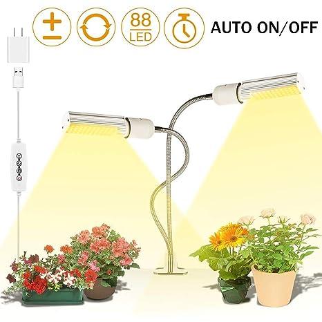 Luz de crecimiento LED para plantas de interior, lámparas de ...