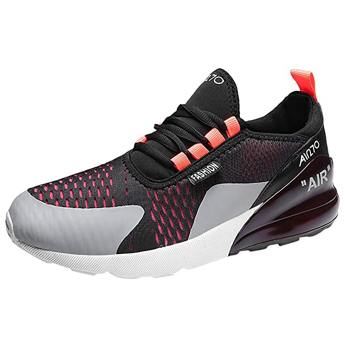 1feeb14a82ece Yomiafy Mens Sneakers Mesh Ultra-Lightweight Breathable Athletic ...