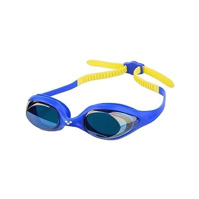 Arena Spider Miroir Lunettes de natation Junior Blue/Blue/Yellow