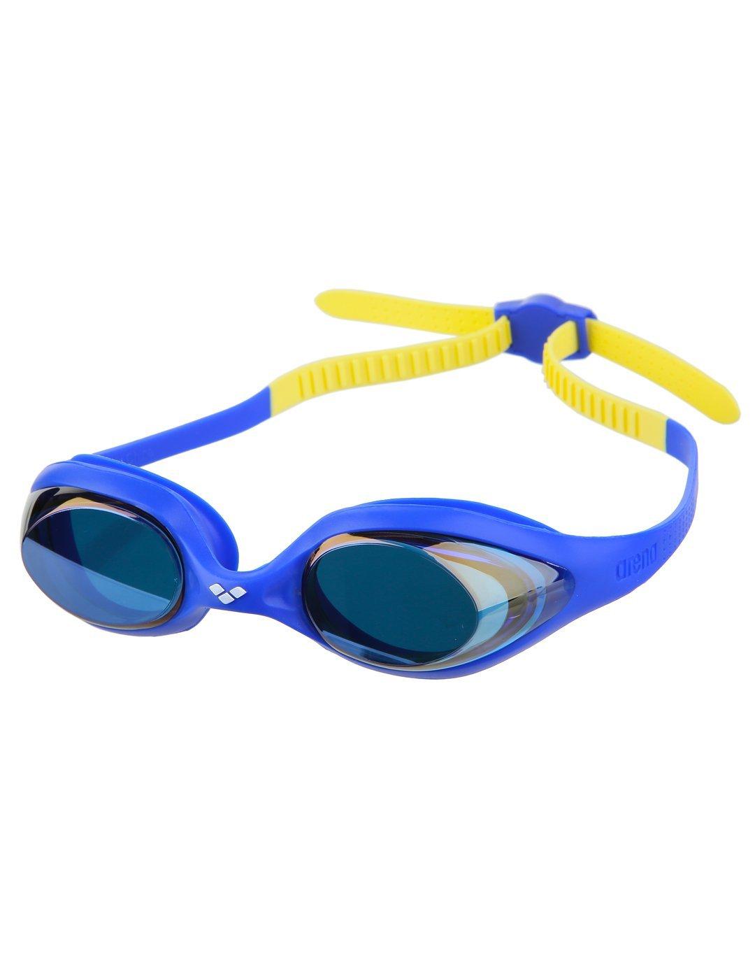 arena Spider Goggles Juniors lime fuchsia-white-clear 2018 Schwimmbrillen dP6E0HU