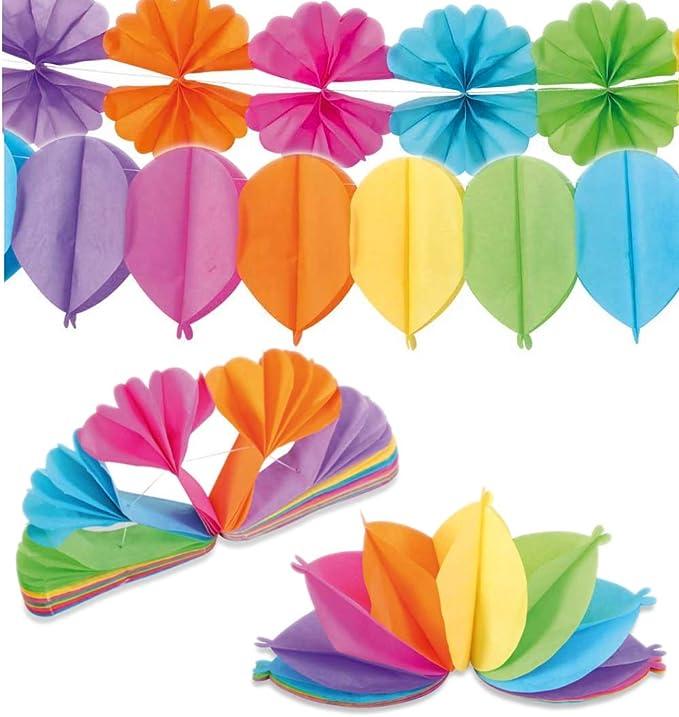 KarnevalsTeufel Party Deko Zubeh/ör Set 19 Teile Partyh/üte Partytr/öten Konfetti Wimpel Girlande Luftschlangen Rotorspiralen