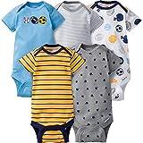 Gerber Baby-Boys Variety Onesies Brand Bodysuits (0-3 Months, Sport.)