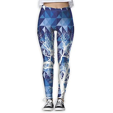 9ffe3e9a8b67e9 Amazon.com: HTSS The Tree of Life Women's Yoga Pants Print Sports Gym  Workout Athletic Leggings Pants: Clothing