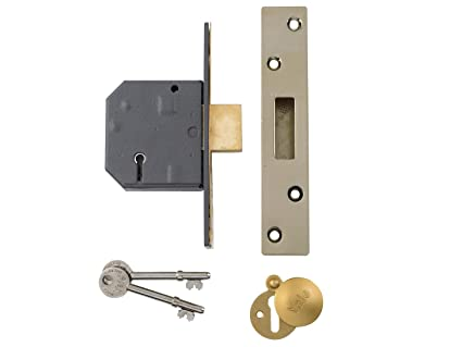 Yale Locks PM562CH25 - Cerradura encastrable BS de alta seguridad (64mm Polish Chrome),