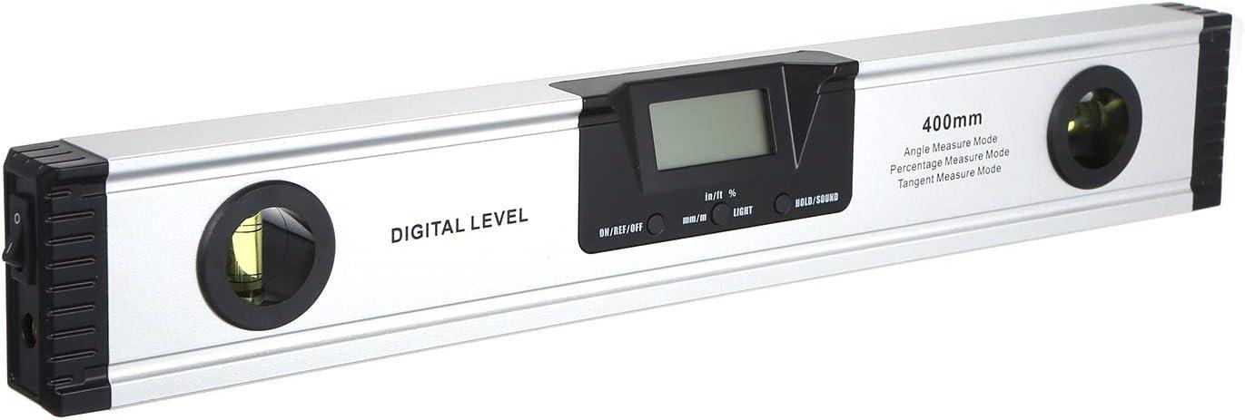 KKmoon 400mm Digital La-ser Measuring Level Angle Meter Angle Finder Measuring Tool for Carpentry//Building//Automobile