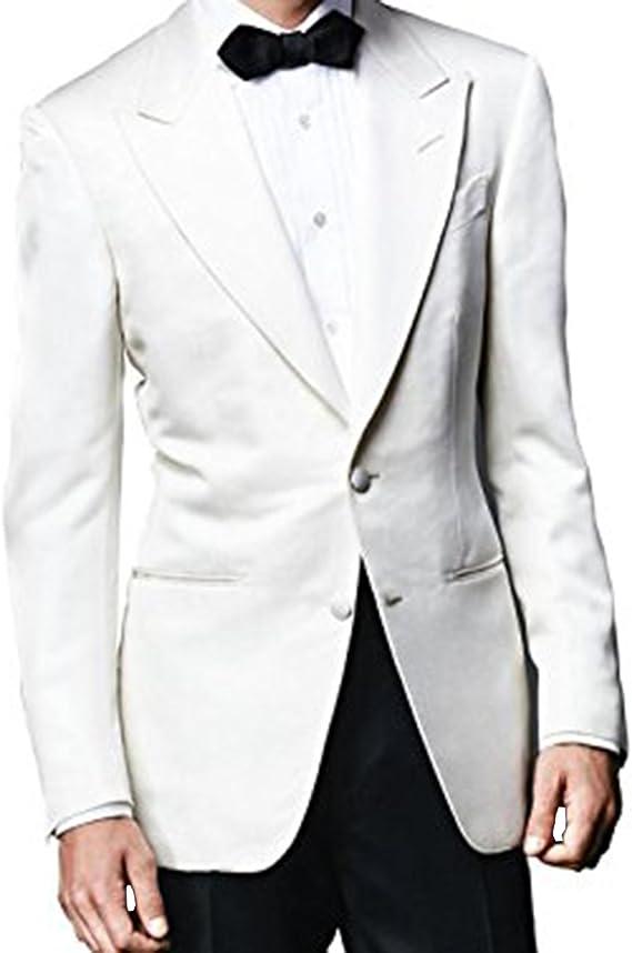 Lp Facon James Bond Spectre Ivory White Tuxedo With Black