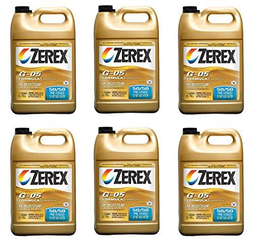 Zerex G-05 Antifreeze/Coolant, Ready to Use - 1gal (ZXG05RU1) (6) by Zerex
