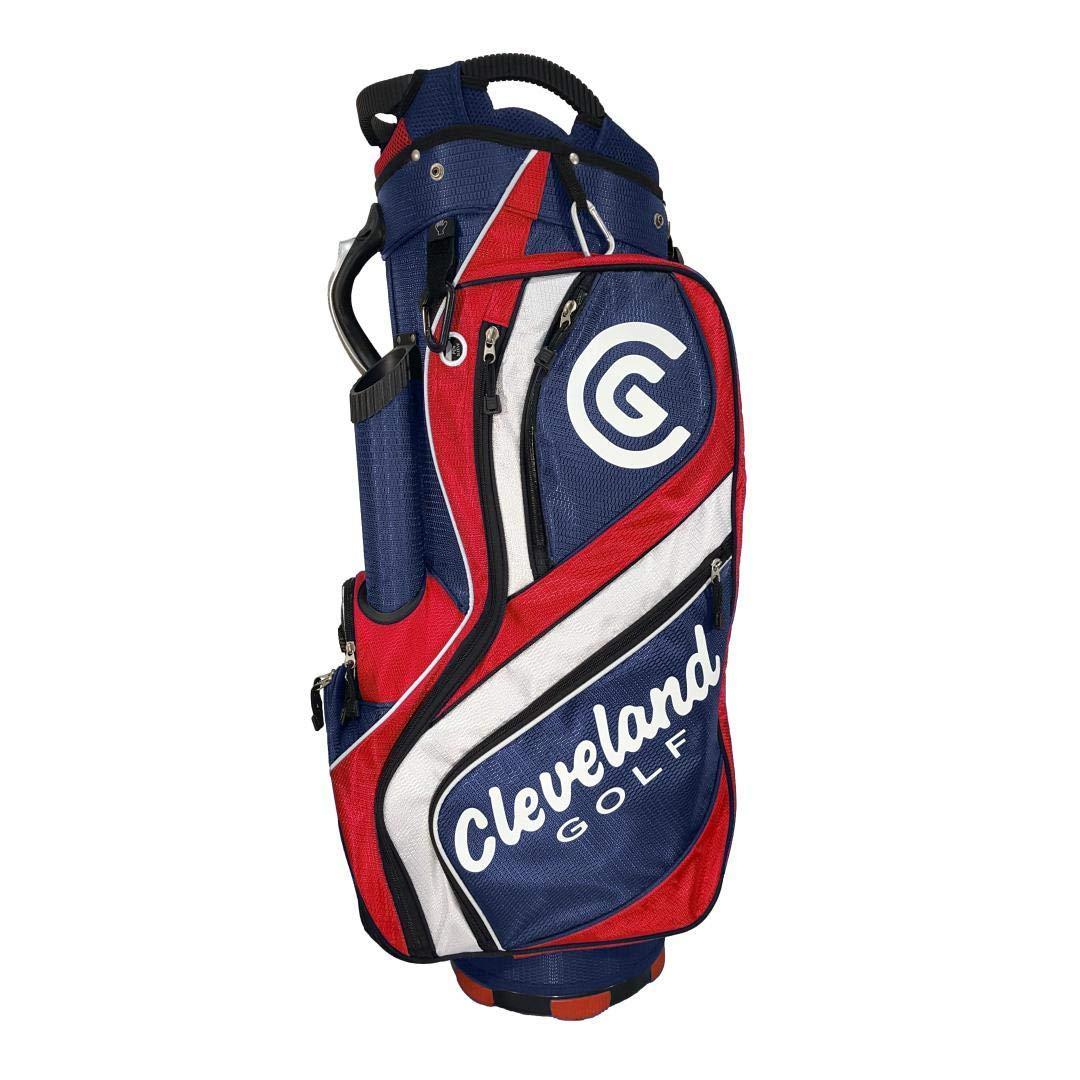 Cleveland C0089648 Bolsa de Carro de Golf, Hombre, Azul/Rojo ...