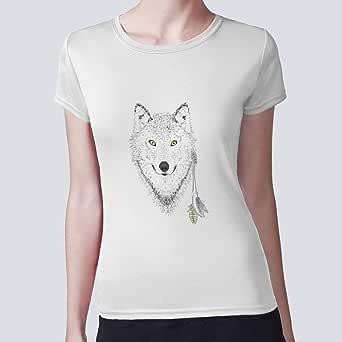 بلوزة للنساء، رسوم متحركة - ذئب