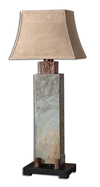 uttermost 37inch tall slate tall table lamp