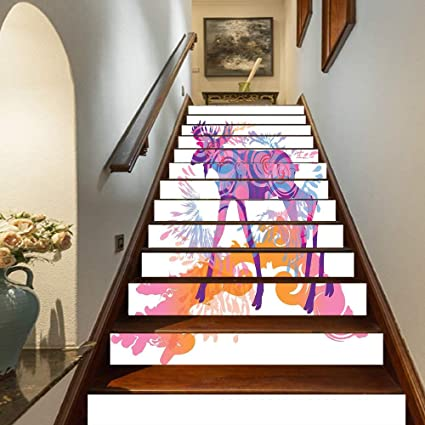 Vosarea Wall Sticker Unique Chic Mermaid Wallpaper Wall Decal Decorative Sticker for Home Living Room Bedroom