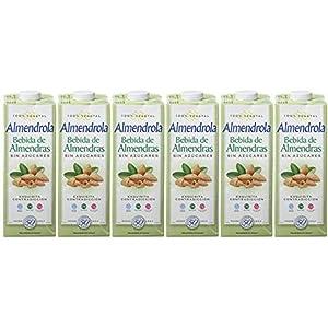 Almendrola - Bebida Vegetal de Almendras Sin Azúcar - Caja de 6 x ...