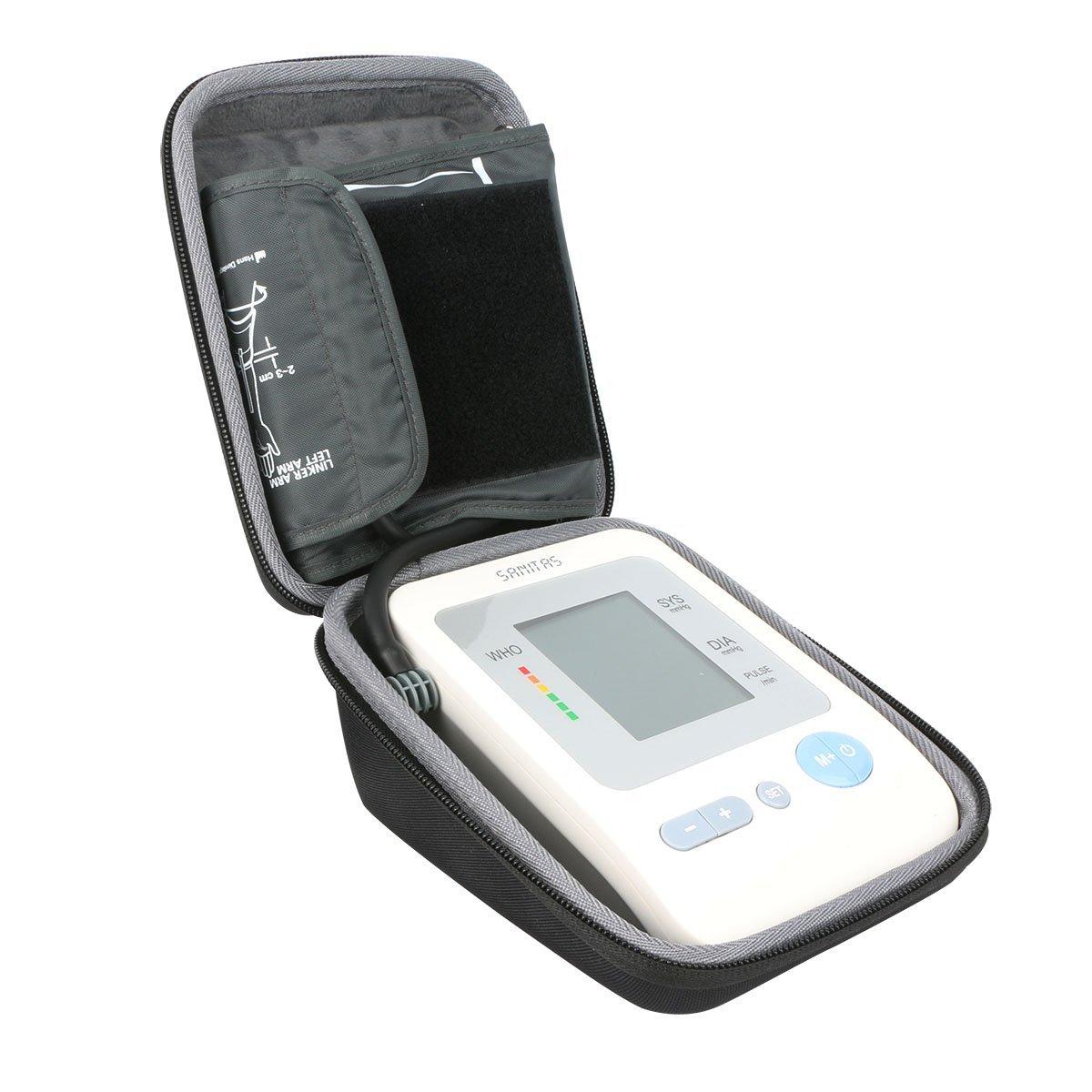 Viaje Carcasa Funda para Sanitas SBM 21 - Tensiómetro de brazo, vollautomatische de presión arterial y pulso en la Parte Superior del Brazo con arrhythmie ...