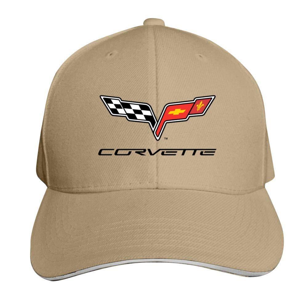 Sokizhoy Baseball Cap C-orvette Car Logo Dad Hat Trucker Cap Cool for Boys Girls