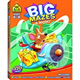 SCHOOL ZONE PUBLISHING BIG MAZES & MORE WORKBOOK (Set of 12)